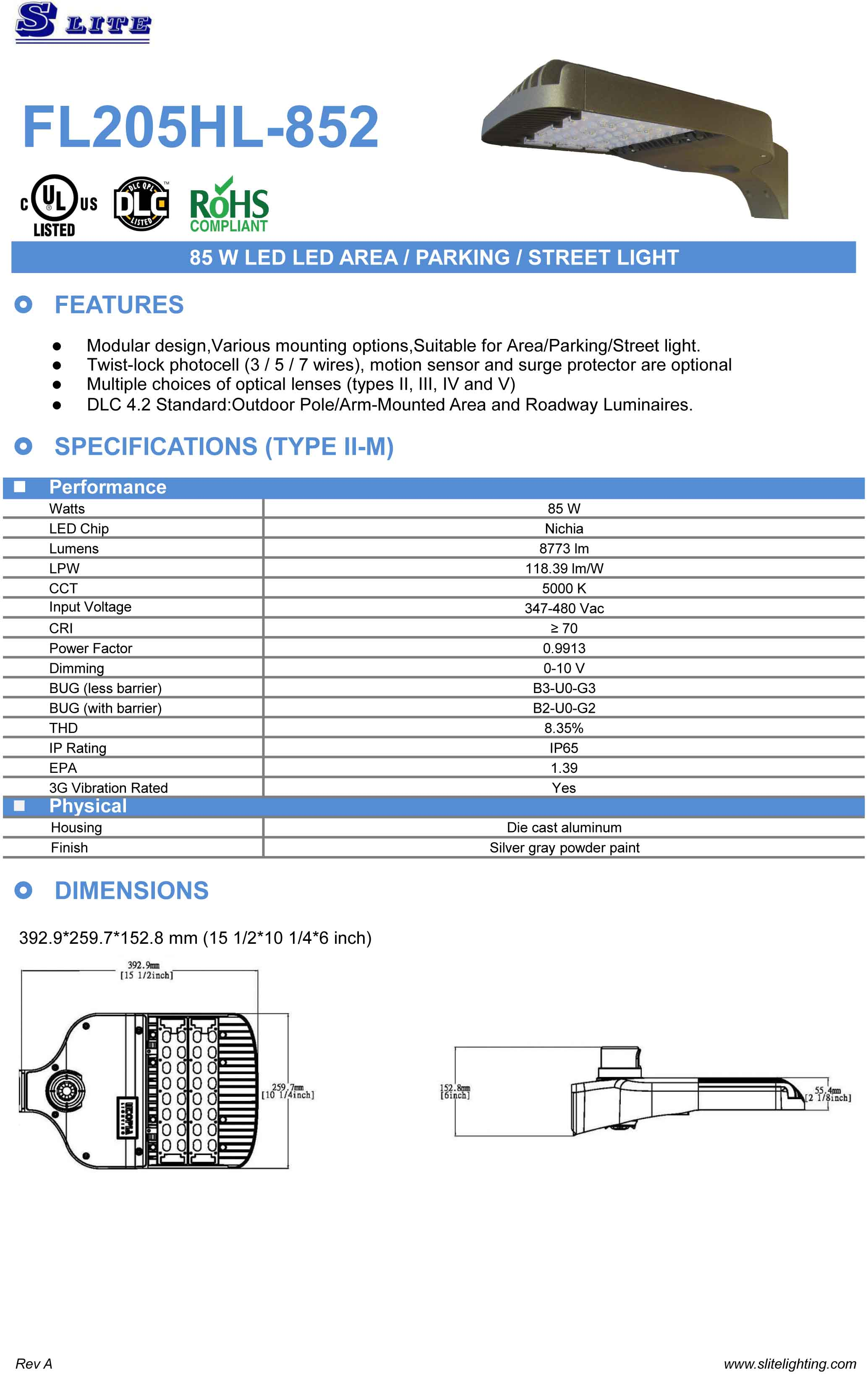 Area Light S Lite Co Ltd Parking Lot Pole Wiring Diagram Close Window Catalog Printing